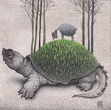 Illustration de Tóth Pitya István
